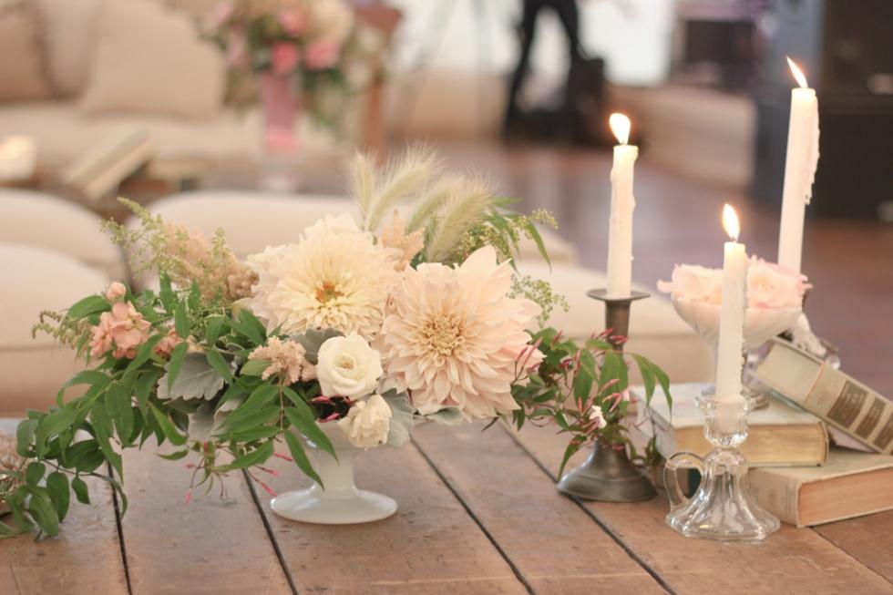 Elegant wedding at Geneva National Resort in Lake Geneva designed by Frontier Flowers of Fontana